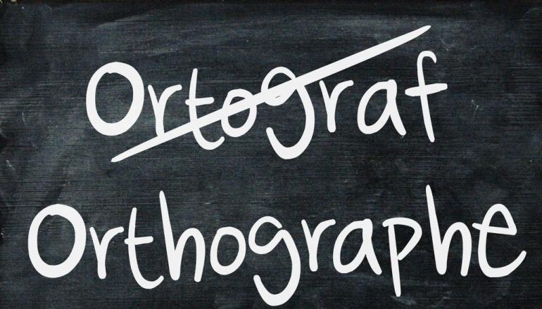 Ardoise orthographe